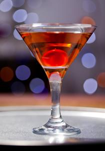 reteta cocktail Manhattan