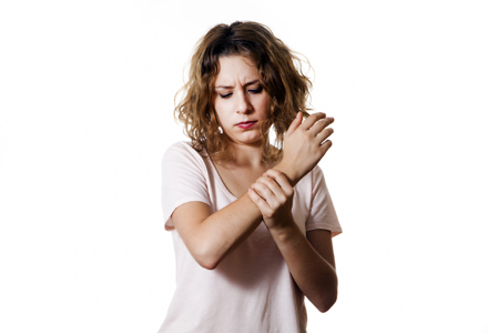 femeie bolnava de guta