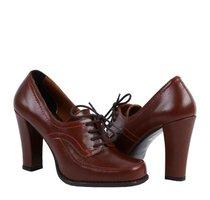 pantofi maro retro
