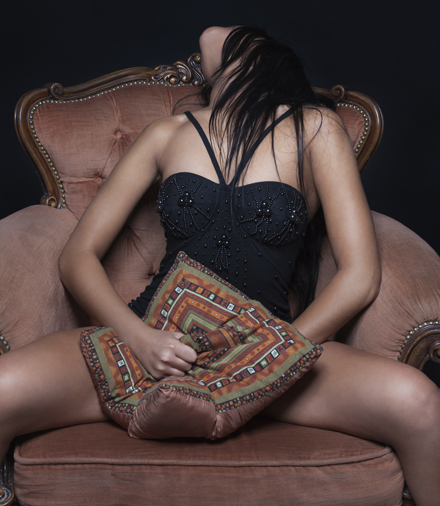 femeie satisfacuta
