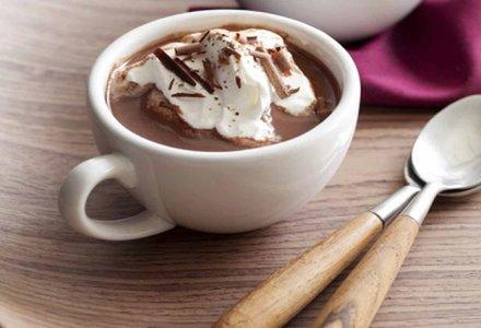 ceasca cu ciocolata calda