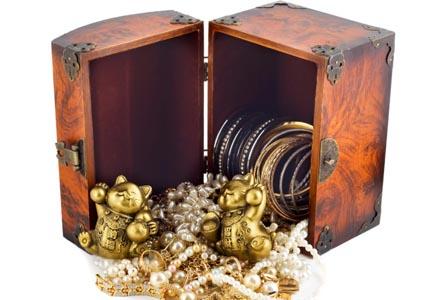 caseta de bijuterii