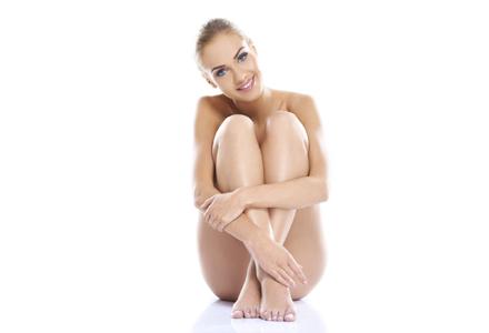 femeie cu piele frumoasa
