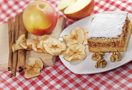 prajitura cu mere si gris