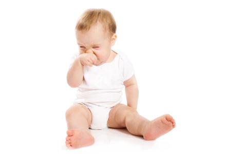 bebelus cu nasul infundat