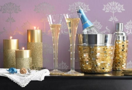 aranjarea casei de Revelion