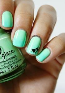 manichiura cu palmieri