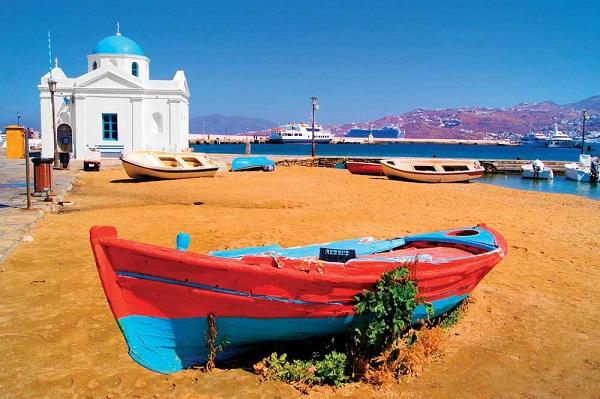 Mykonos insula greceasca