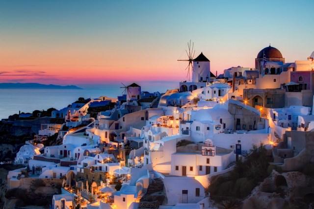 Santorini insula greceasca