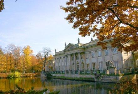 Varsovia Palatul pe apa