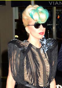 coafura Lady Gaga