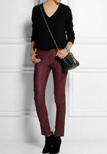pantaloni_piele_bordo