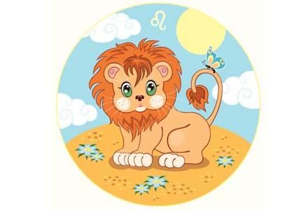 zodia Leu copii