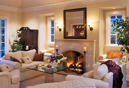 Stilul clasic de amenajare a locuintei - Living room traditional decorating ideas with cultural accents ...
