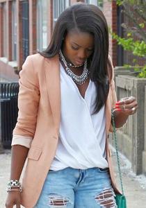 blazer femeie plinuta