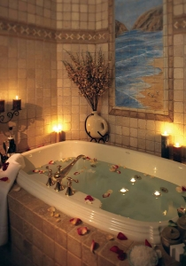 Idei de decor pentru ziua indragostitilor for Bathroom romance photos