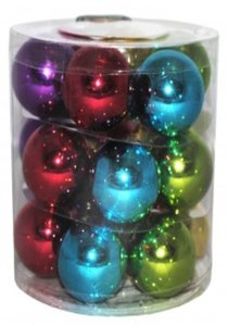 globuri colorate