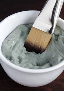 argila albastra