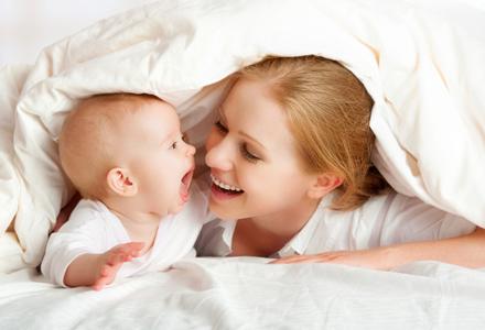 mama si bebelus