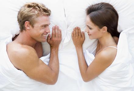 cuplu in pat