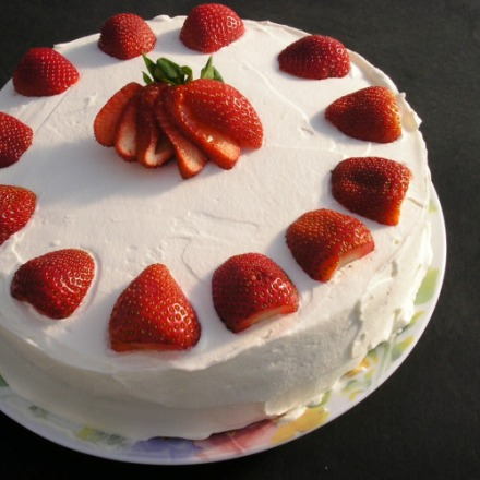 Tort capsuni
