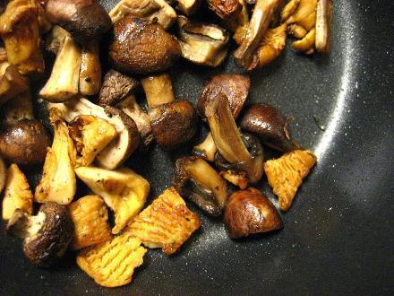 Budinca cu ciuperci