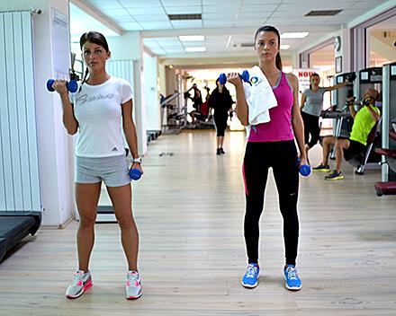 exercitii pentru brate