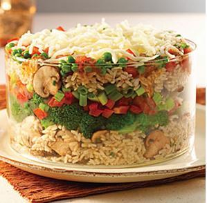 Salata orez