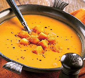 Supa crema dovlecei
