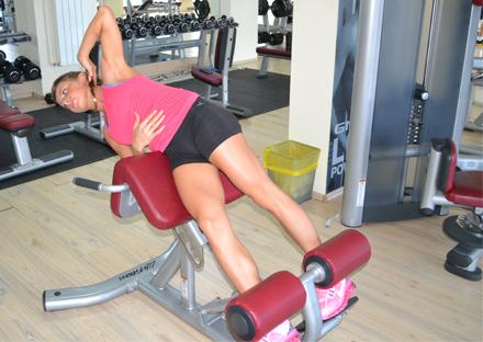 Exercitiu abdomen pentru oblici