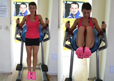 Exercitii abdomen la sala