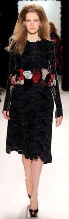 rochie de zi din dantela Nina Ricci