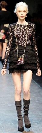 bluza din dantela Dolce & Gabbana
