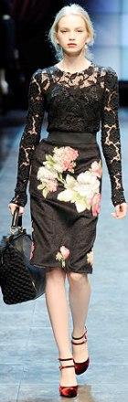 poza bluza din dantela Dolce & Gabbana
