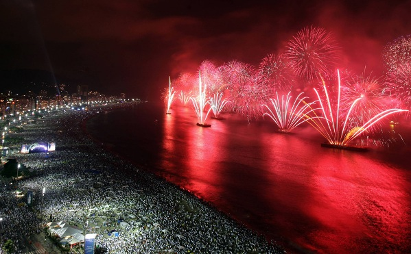 poza Revelion in Rio de Janeiro