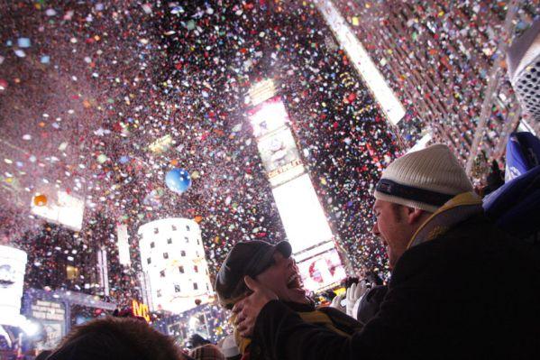 poza Revelion in New York