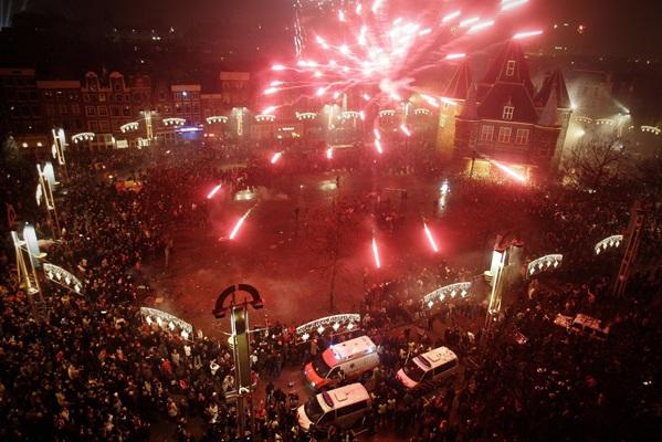 poza Revelion in Amsterdam