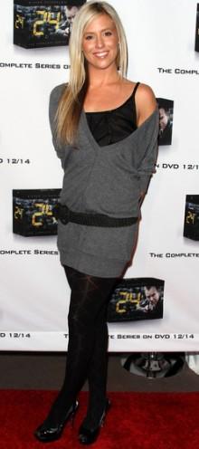 poza rochie din tricot Natalie Getz