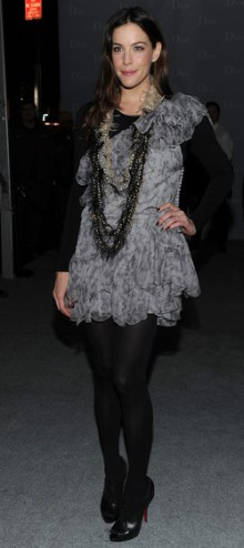 poza rochie de vara din matase Liv Tyler