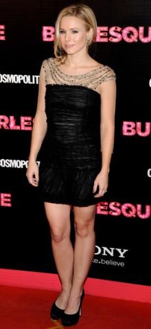poza rochie neagra Kristen Bell