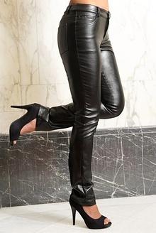 Leggings din piele
