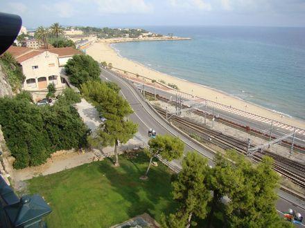 Tarragona, vedere de pe faleza
