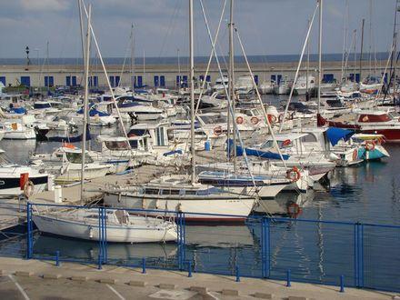 Tarragona, portul de iachturi
