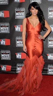 rochie Kim Kardashian