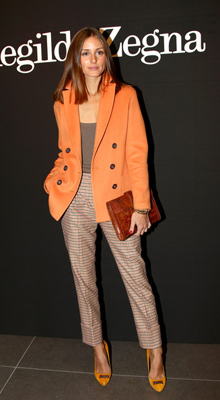 jacheta portocalie