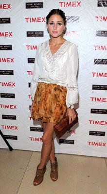 Оливия Палермо на модной вечеринке.