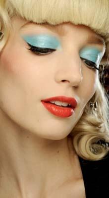 make-up turcoaz