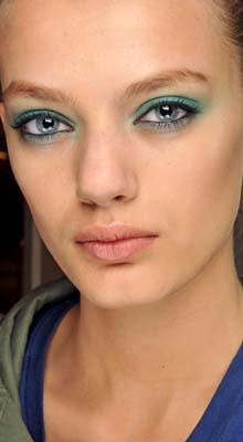 make-up verde