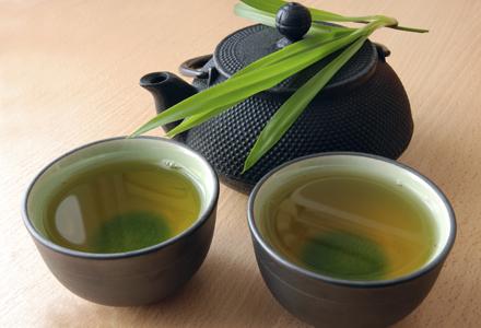 ceai verde dimineata