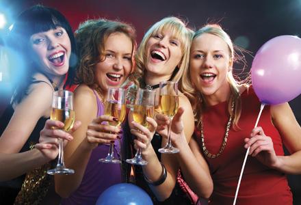 Petrecere cu fete